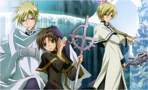 07 Ghost Episódio 25 – A Verdade Está Além Dos Corações Que Se Conectam Repentinamente - Assistir Animes Online