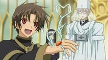 Mikhail's affection for Teito