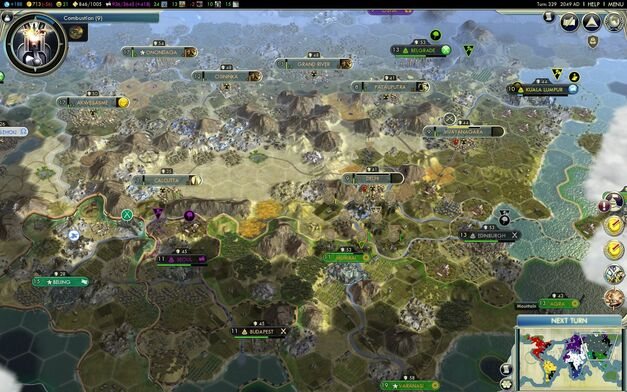 Civilization V Map