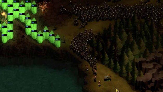 They Are Billions walls ranger kite horde