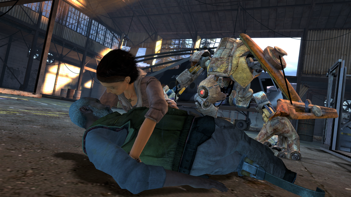Half-Life 2: Episode 2 - the cliffhanger