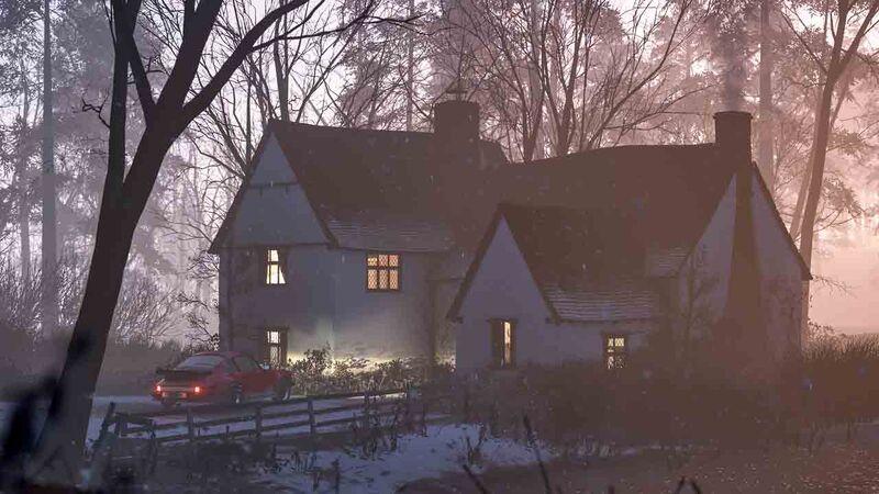 Forza Horizon 4 house purchase Britain Winter