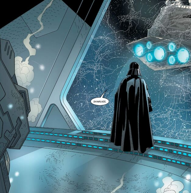 Panel from Darth Vader, Issue 6