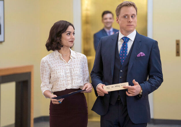 Powerless - Season Pilot hudgens and tudyk