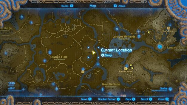 Location - Memory 12 - Hyrule Field