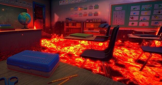Hot-Lava-Klei-Entertainment-Classroom