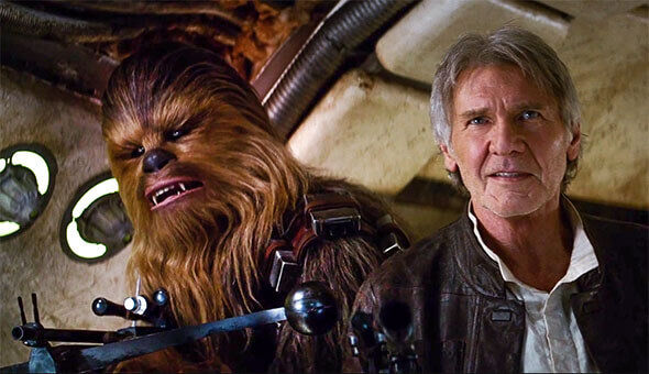 Star Wars - Han and Chewie