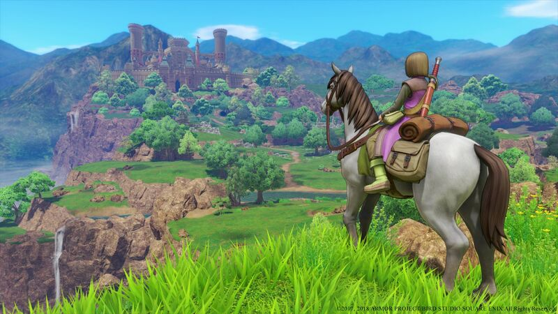 Dragon Quest XI' Isn't The 'Breath Of The Wild' Beater Many