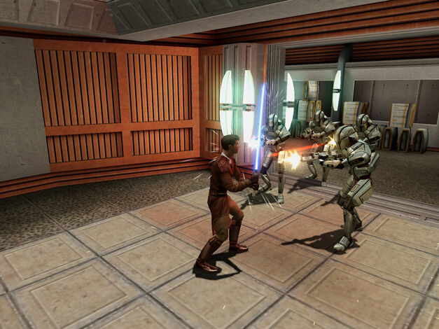 A screenshot of Star Wars: Knights of the Old Republic for PC.