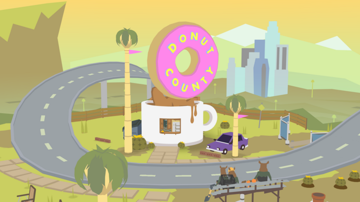 'Donut County' is Surprisingly Soothing for a Game About Apocalyptic Donuts