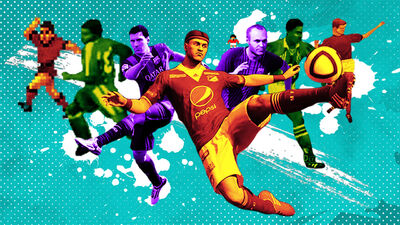 The Weird and Wonderful History of Football Videogames