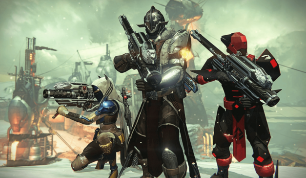 Destiny Rise of Iron Gear and Weapons