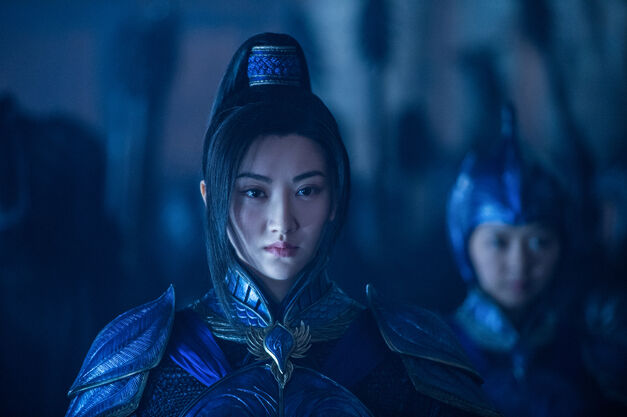 The Great Wall review general lin jing tian