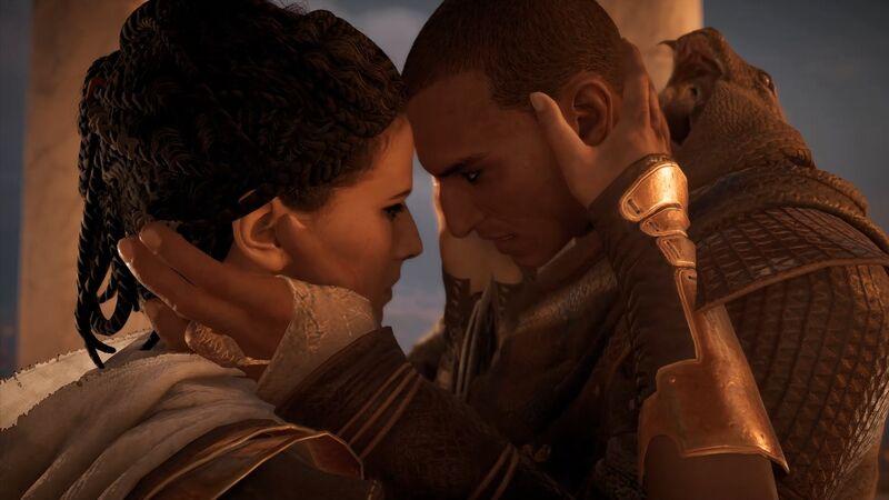 Assassin's Creed Origins Bayek Aya