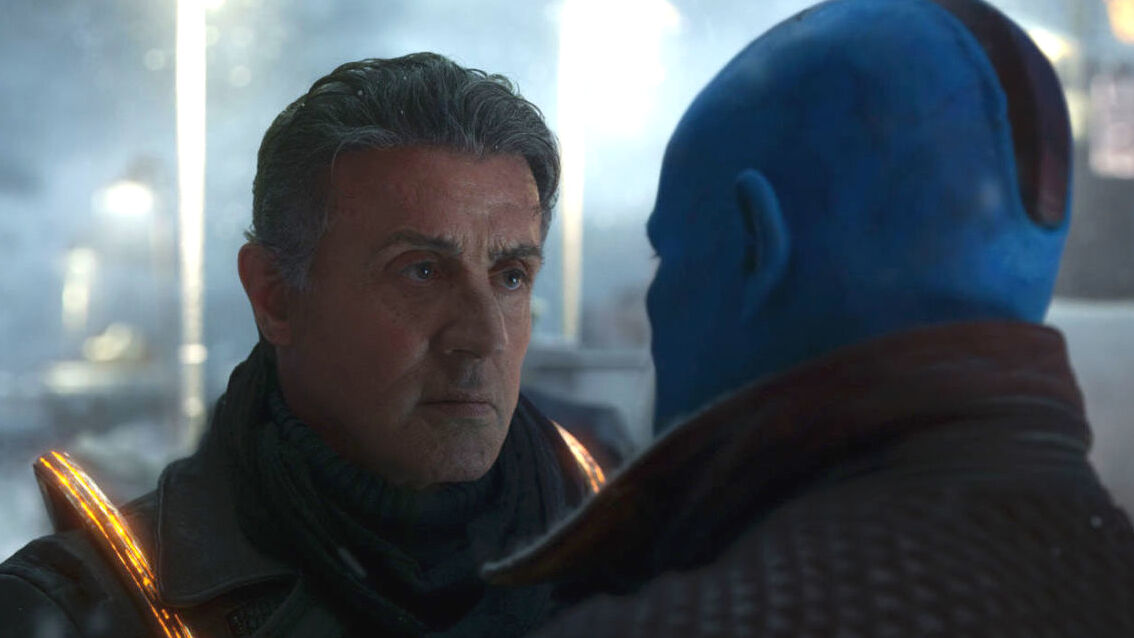 Sylvester Stallone marvel guardians of the galaxy