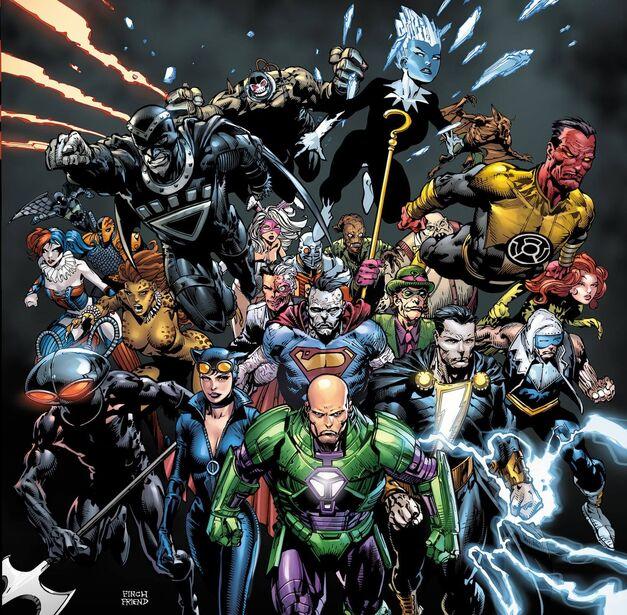 Lex Luthor Forever Evil