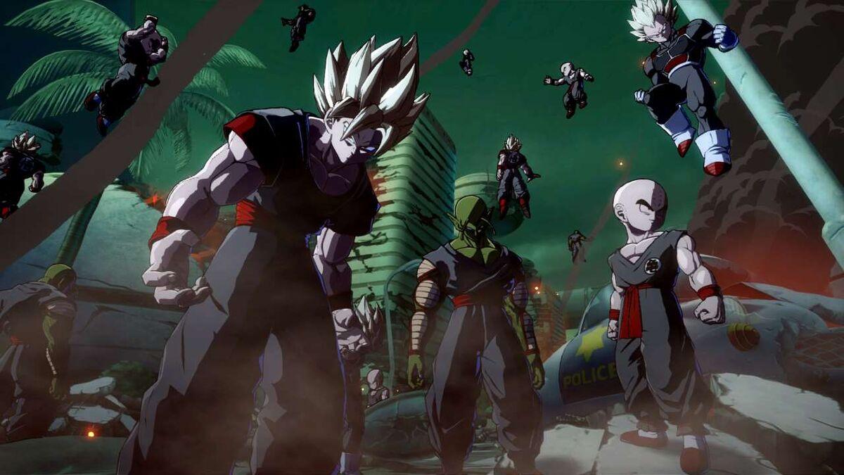 Clones Goku Krillin Piccolo