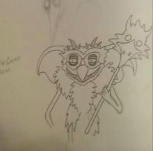 Demon Greeter