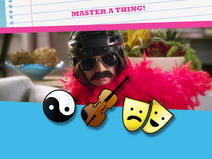 Master a thing emoticon