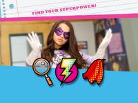 Super power emoticon