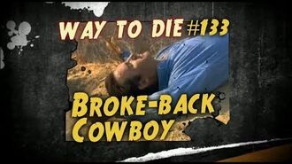 1000 Ways To Die 133 Broke-back Cowboy (German Version)-0