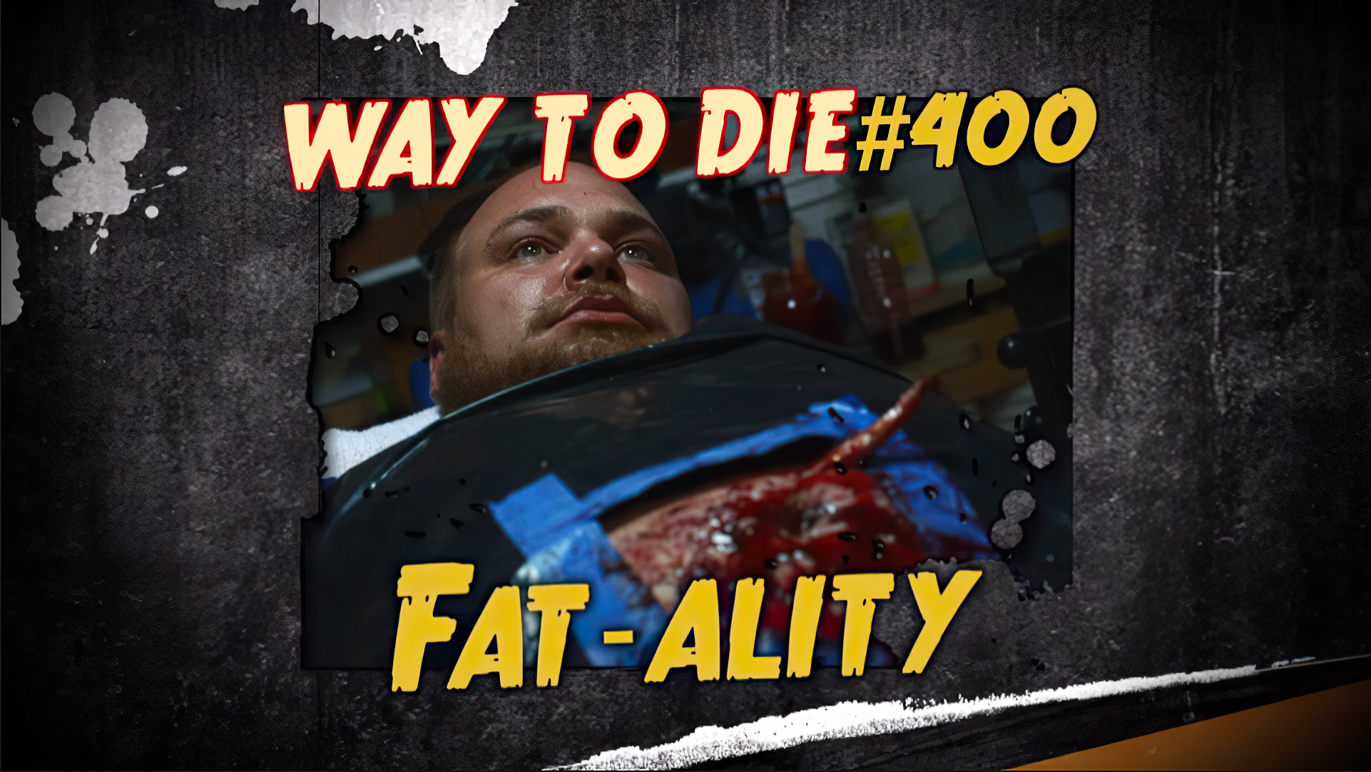 Fat ality 1000 ways to die wiki fandom powered by wikia its not hard to figure out liposuction in your own garage is not a good idea dave didnt have a lot of brains but he sure had a lot of guts solutioingenieria Choice Image