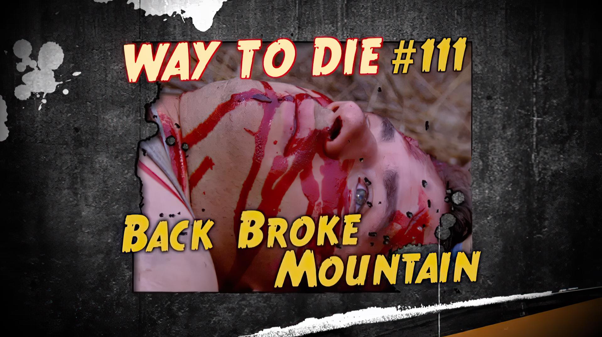 1000 ways to die come on get deathy
