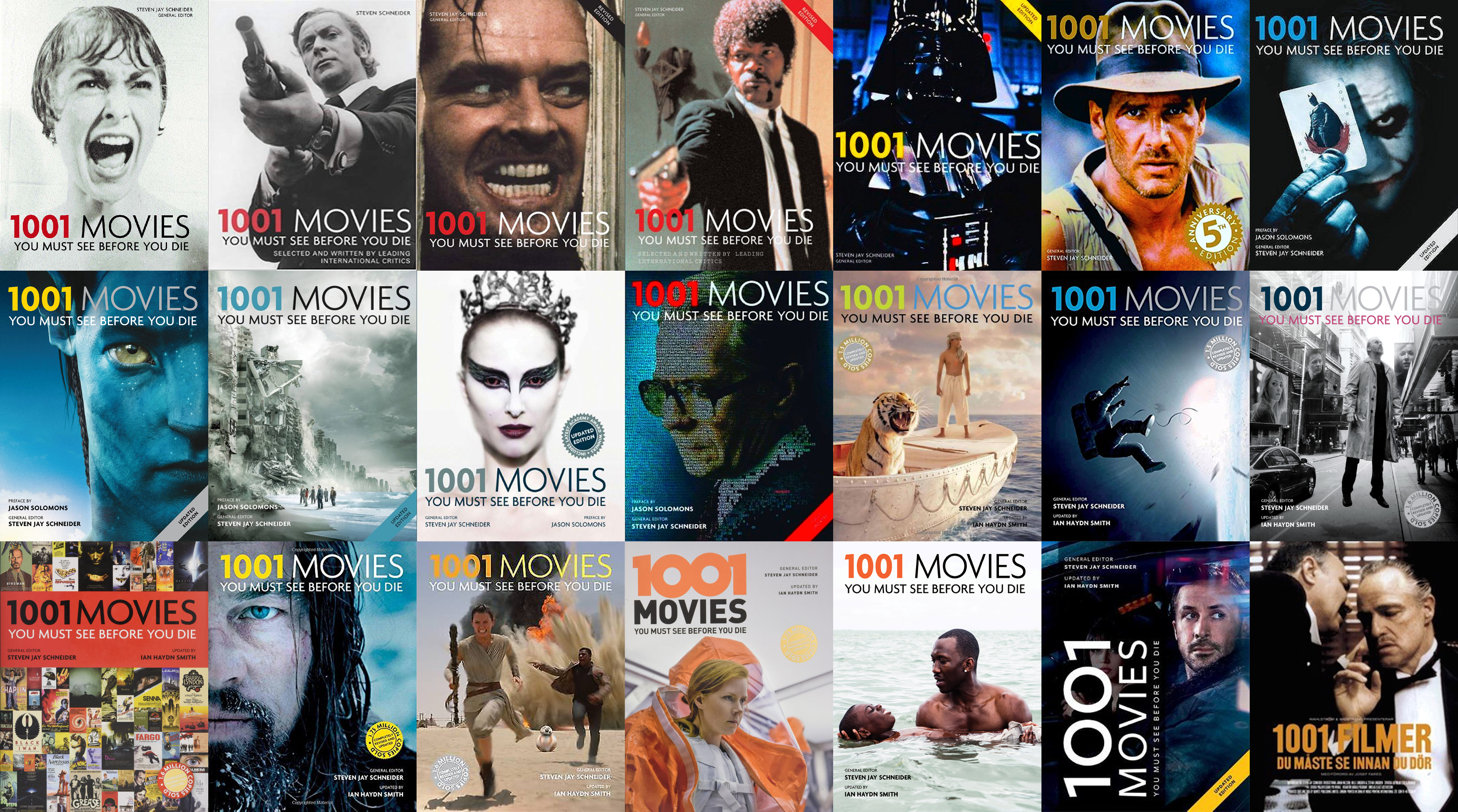The Film Lover S Check List 1001 Movies You Must See Before You Die