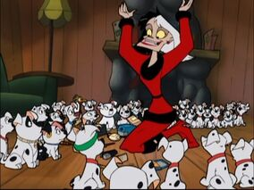 Pups Cruella Christmas