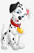 Two-Tone Dearly Dalmatian
