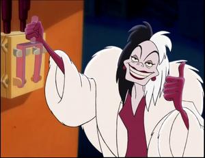 Cruella de Vil (Hos Skurkene) - Diddy Kong