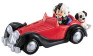 Disney - Fisher-Price - Little People - Cruella de Vil - with Car and Dog