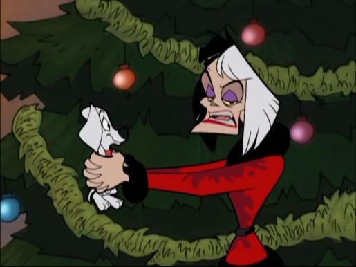 Image - Wizzer Cruella Christmas.jpg | 101 Dalmatians Wiki ...