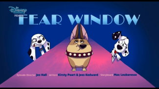 Fear Window - title card