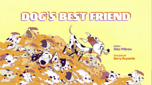 Dog's Best Friend title card