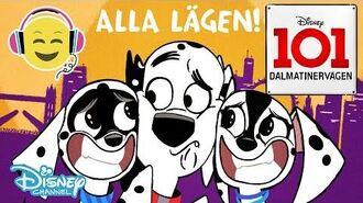 Dalmatinervägen 101 Musik Vilket Hundliv TEXT 🎶- Disney Channel Sverige