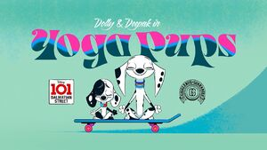 Yoga Pups Title Card