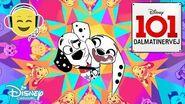 Dalmatinervej 101 Dansk Intro 🐶- Disney Channel Danmark