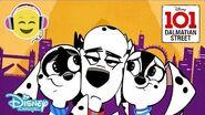 101 Dalmatian Street Sing Along - Dog's Life 🎶 Disney Channel UK