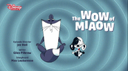 The Wow of Miaow - title card