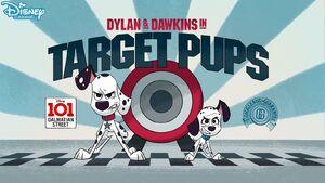 Target Pups Title Card