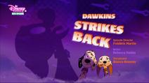 Dawkins Strikes Back - title card