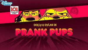 Prank Pups Title Card