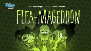 Flea-Mageddon title card