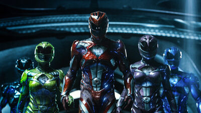 Meet the Power Rangers