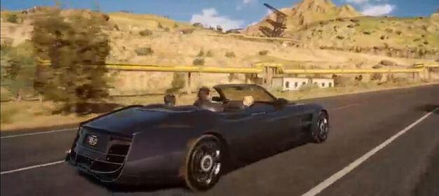 FFXV-Driving