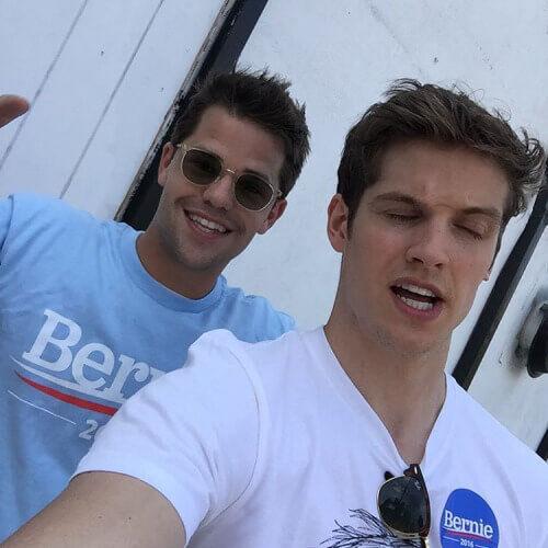 Teen Wolf News Daniel Sharman Max Carver Bernie Supporters