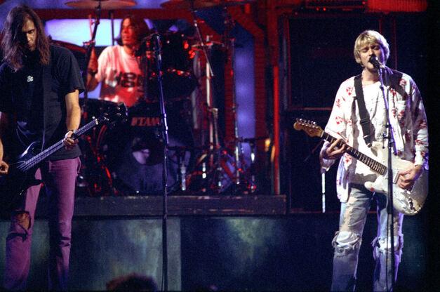 Nirvana at the Video Music Awards