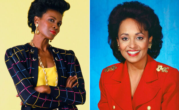 Fresh Prince of Bel-Air Janet Hubert and Daphne Maxwell Reid as Aunt Viv