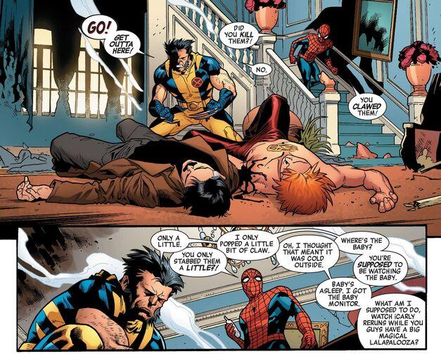 Spider-Man Babysitter New Avengers v2 2